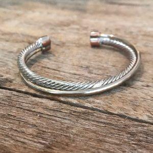 Jewelry - Twisted silver bracelet!!